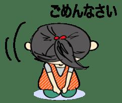 running girl sticker #1106175