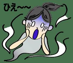 running girl sticker #1106177