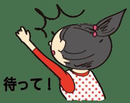 running girl sticker #1106178