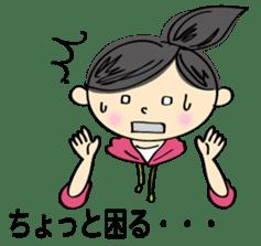 running girl sticker #1106179