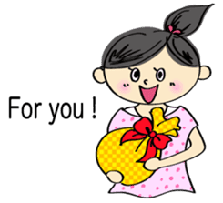 running girl sticker #1106182