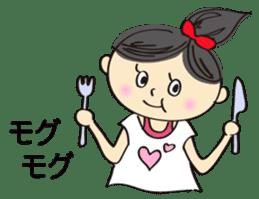 running girl sticker #1106183