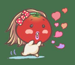 Mr.Tomato & Miss Egg sticker #1106308
