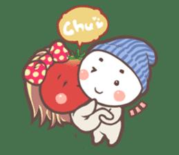 Mr.Tomato & Miss Egg sticker #1106312