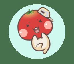 Mr.Tomato & Miss Egg sticker #1106314
