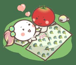 Mr.Tomato & Miss Egg sticker #1106319