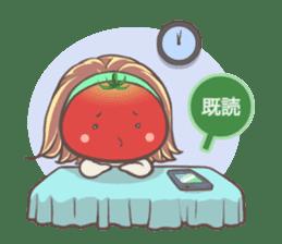 Mr.Tomato & Miss Egg sticker #1106320