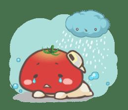 Mr.Tomato & Miss Egg sticker #1106322