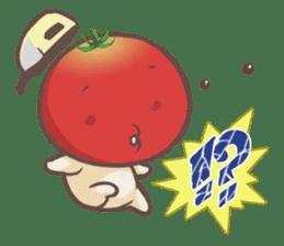 Mr.Tomato & Miss Egg sticker #1106330