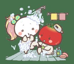 Mr.Tomato & Miss Egg sticker #1106334