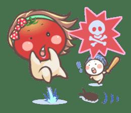 Mr.Tomato & Miss Egg sticker #1106337