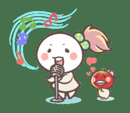 Mr.Tomato & Miss Egg sticker #1106339