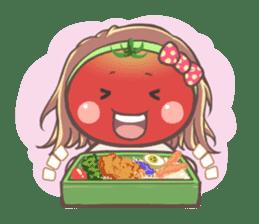 Mr.Tomato & Miss Egg sticker #1106340