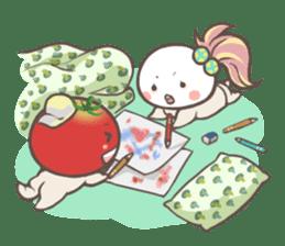 Mr.Tomato & Miss Egg sticker #1106343