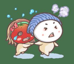 Mr.Tomato & Miss Egg sticker #1106344