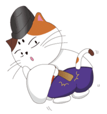 Court noble cat NYANMARO sticker #1106629
