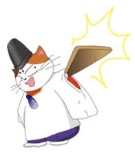 Court noble cat NYANMARO sticker #1106633