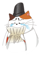 Court noble cat NYANMARO sticker #1106636