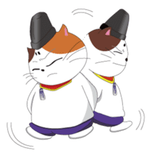 Court noble cat NYANMARO sticker #1106656