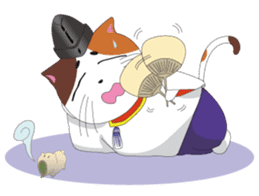 Court noble cat NYANMARO sticker #1106660
