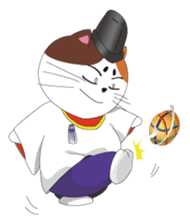 Court noble cat NYANMARO sticker #1106661