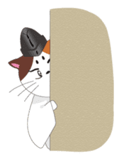 Court noble cat NYANMARO sticker #1106664