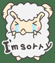 Mr. Sheep sticker #1106789