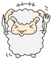 Mr. Sheep sticker #1106804