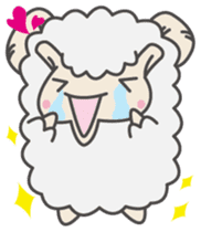 Mr. Sheep sticker #1106805