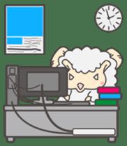Mr. Sheep sticker #1106810