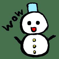 Halloween and Christmas sticker #1107306