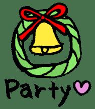 Halloween and Christmas sticker #1107309