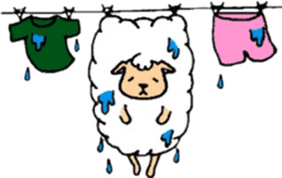 The sheep and bear sticker #1107834