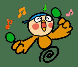 Dancing CHUMPEI sticker #1108844