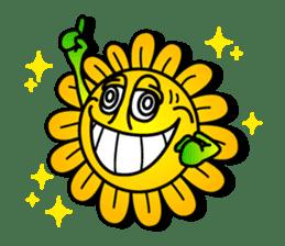 "Happy Flower ""PoPo"" sticker #1108948"