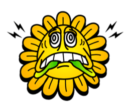 "Happy Flower ""PoPo"" sticker #1108950"