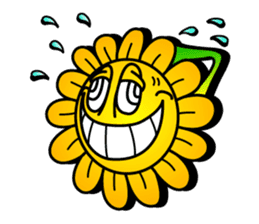 "Happy Flower ""PoPo"" sticker #1108955"