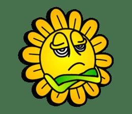 "Happy Flower ""PoPo"" sticker #1108957"