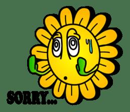 "Happy Flower ""PoPo"" sticker #1108963"
