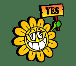 "Happy Flower ""PoPo"" sticker #1108964"