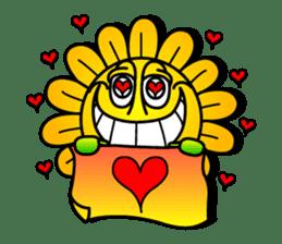 "Happy Flower ""PoPo"" sticker #1108970"
