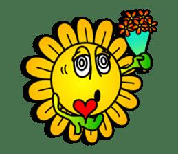 "Happy Flower ""PoPo"" sticker #1108971"