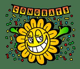 "Happy Flower ""PoPo"" sticker #1108972"