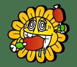 "Happy Flower ""PoPo"" sticker #1108976"