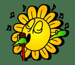 "Happy Flower ""PoPo"" sticker #1108980"