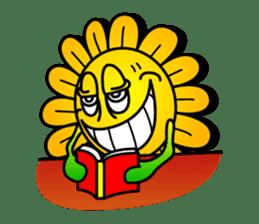 "Happy Flower ""PoPo"" sticker #1108982"