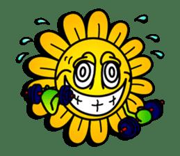 "Happy Flower ""PoPo"" sticker #1108983"