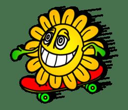 "Happy Flower ""PoPo"" sticker #1108984"