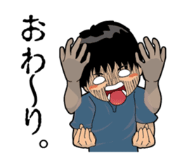 Japanese Sign Language sticker #1109033