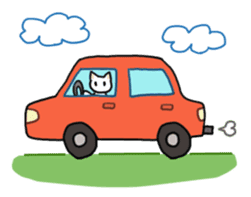 Life of cats sticker #1109096
